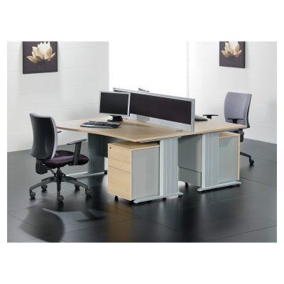 Contrax2 Cantilever - Flare Desks