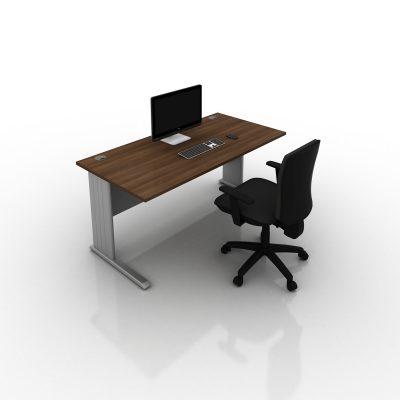 Contrax2-Cantilever-Desk-Walnut-Top