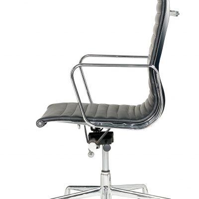 Libra -  High Back Executive Swivel Armchair Ribbed - Fixed Arms