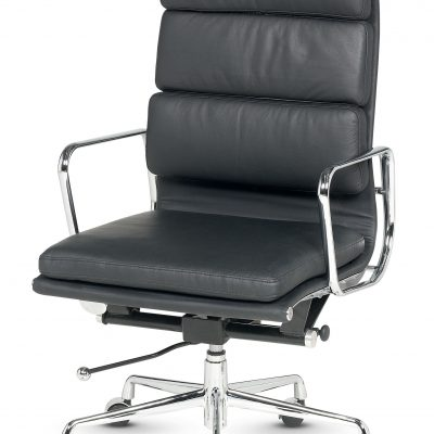 Libra - High Back Executive Swivel Soft Pad Armchair - Fixed Arms