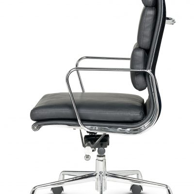 Libra - High Back Executive Swivel Armchair Soft Pad - Fixed Arms