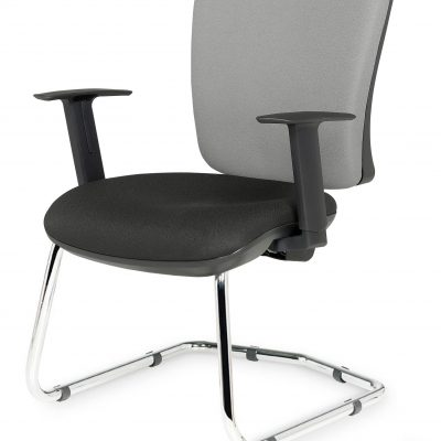 Touch - Visitors / Meeting Armchair - Height Adjustable Arms