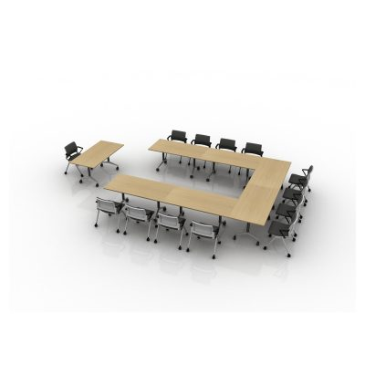 Topo - Cluster of Rectangular Tip Top Tables