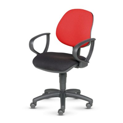 Sprint - Medium Back Operators Chair - Fixed Arms