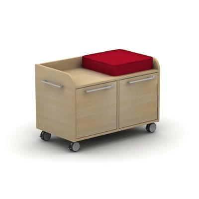 Infinity Return Caddy  - Two Drawer with Seat Pad