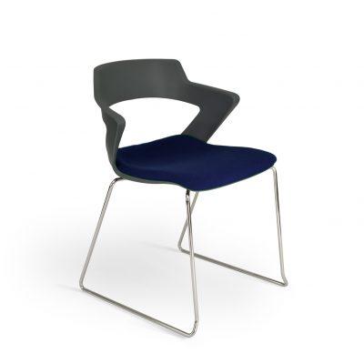 Aria-blue-upholstered-seat-sled-base