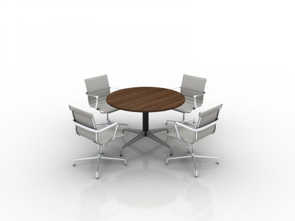 Cruise Circular Meeting Table