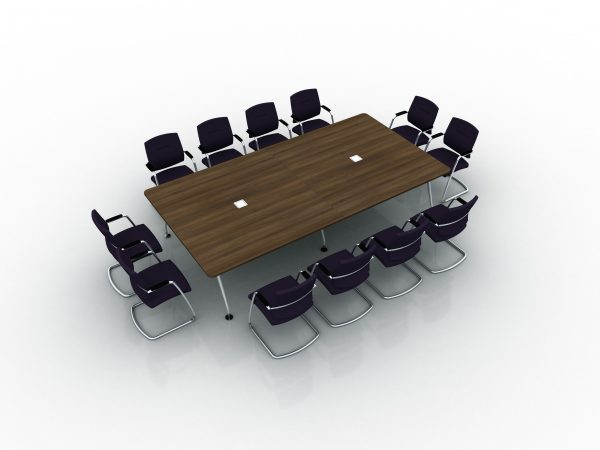 Vega Conference Table & Vistor Chairs