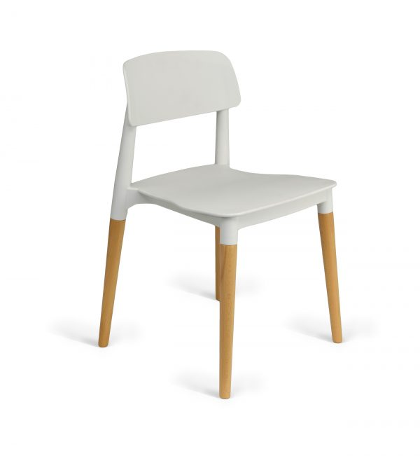 Edith Cafe Chair White