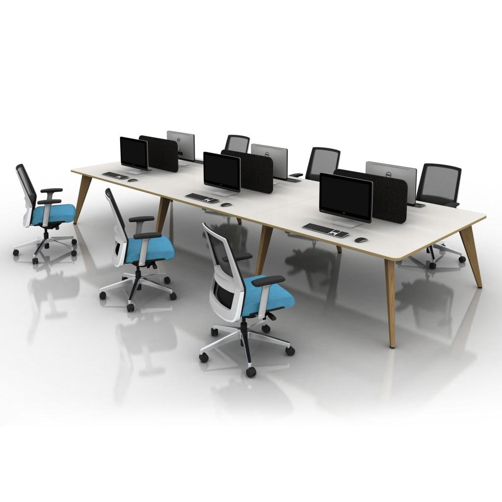 pyramid wood mobili office