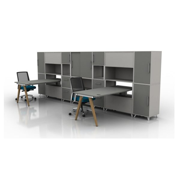 Box & Vega Wood Desking