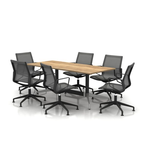 Cruise Meeting Table & Biella Chairs