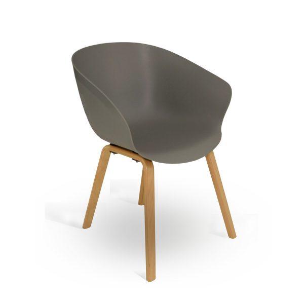 Orb 4 Leg Wooden Frame Chair